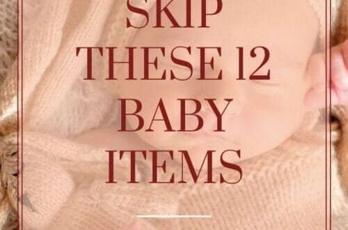 12 things your baby doesn't need