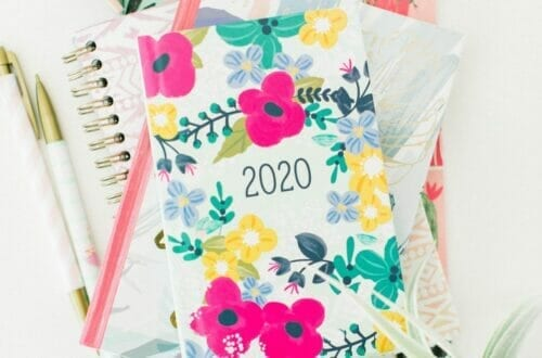 2020 vision and planner