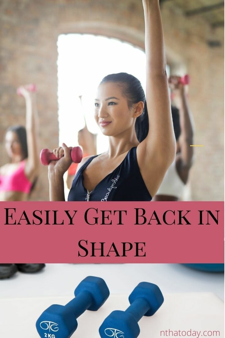 Exercises to get into shape