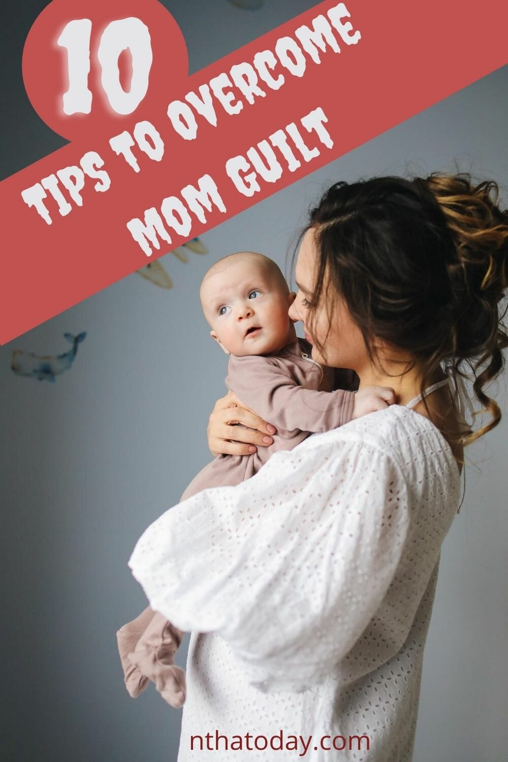 Overcome mom guilt