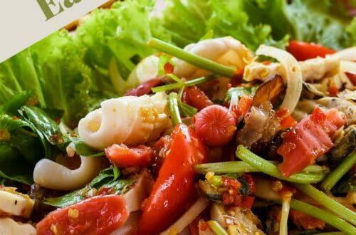Healthy eating meal options and recipes